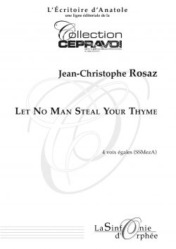 Let No Man Steal Your Thyme