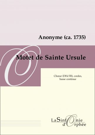 Motet de Sainte Ursule