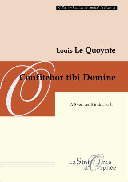 Le Quoynte Confitebor tibi Domine