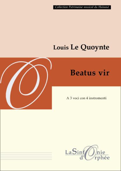 Le Quoynte beatus vir