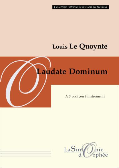 Le Quoiynte Laudate Dominum